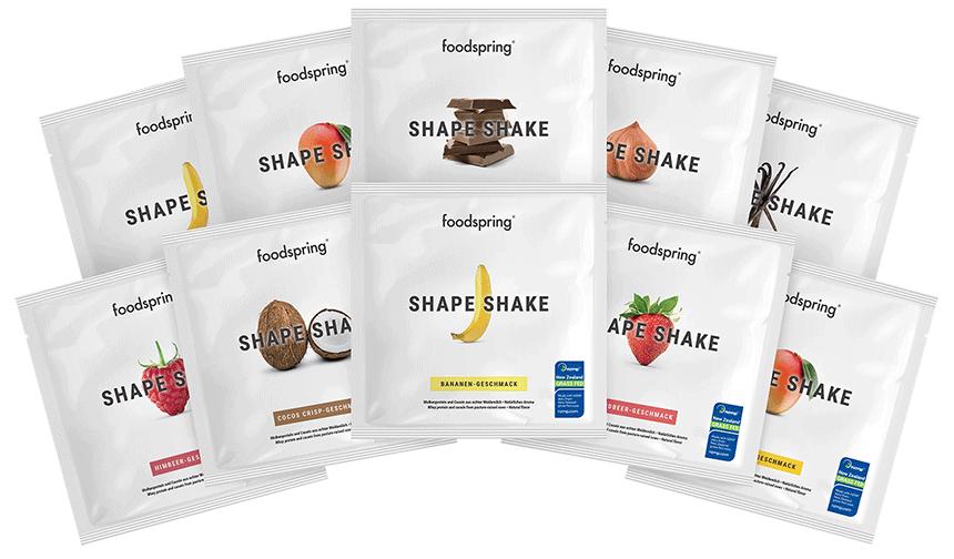 Shape Shake monoporzione Pack da 10