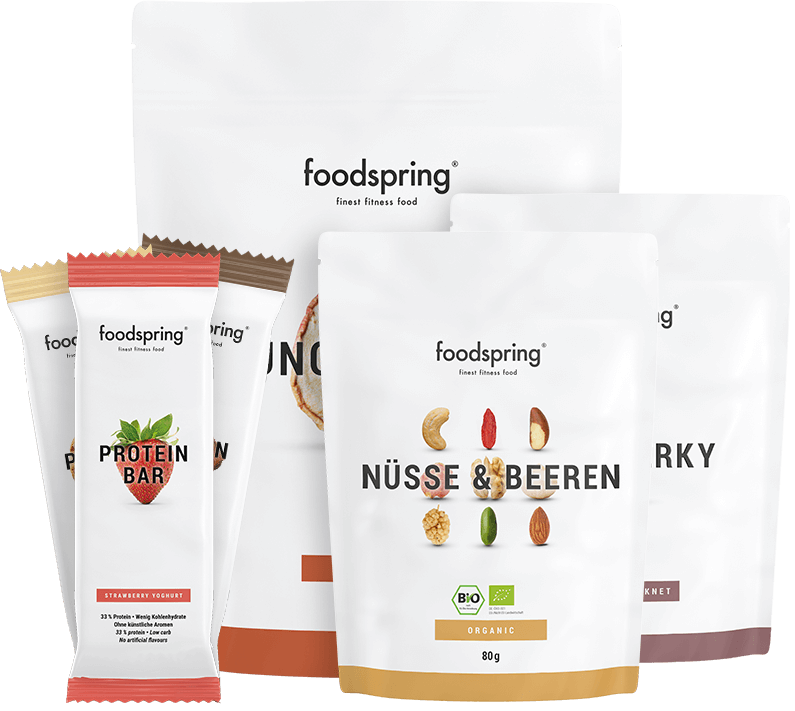Snackpacket von foodspring