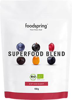Superfood Blends Das natürliche Energy Superfood Pulver.