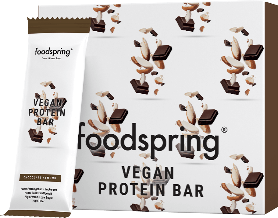 Vegan Protein Bar 12-Pack 100% plant-based protein snack.