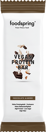 Vegan Protein Bar 100% plant-based protein snack.