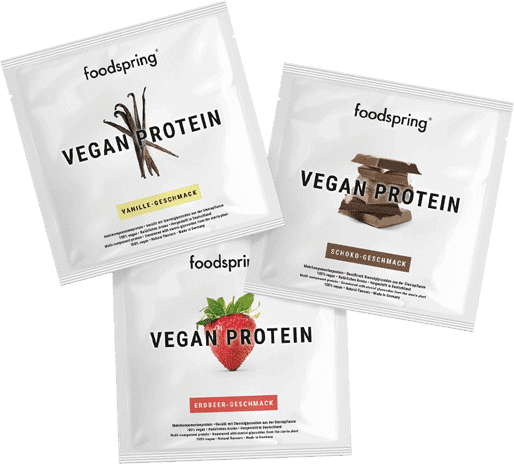 Vegan Protein Taster Portion 100% plant-based protein