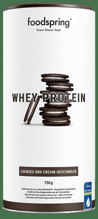Whey Protein Cookies & Cream-Geschmack