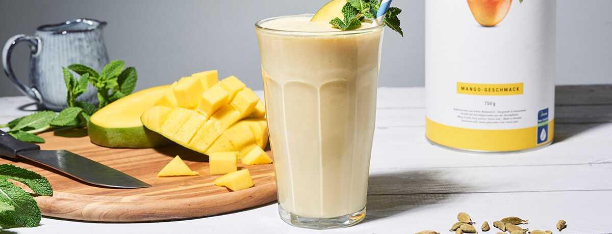 Protein Mango Lassi