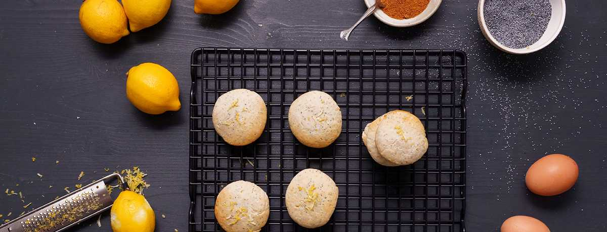 Cookies Zitrone Mohn