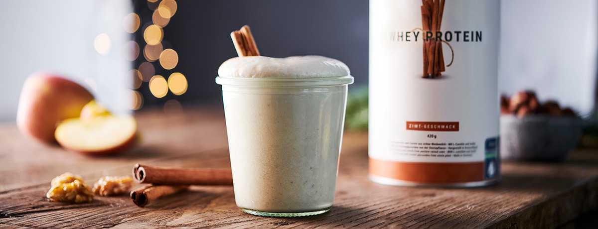 Protein Shake Pomme Cannelle