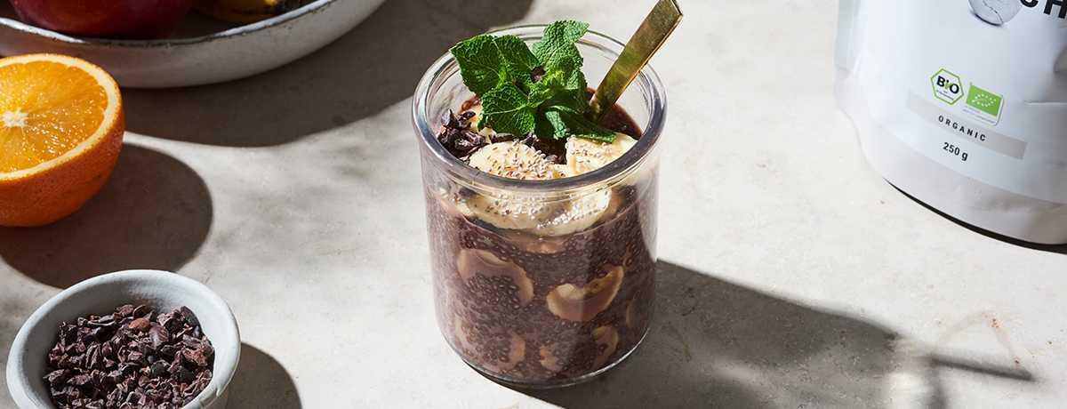Schoko Chia Pudding Rezept