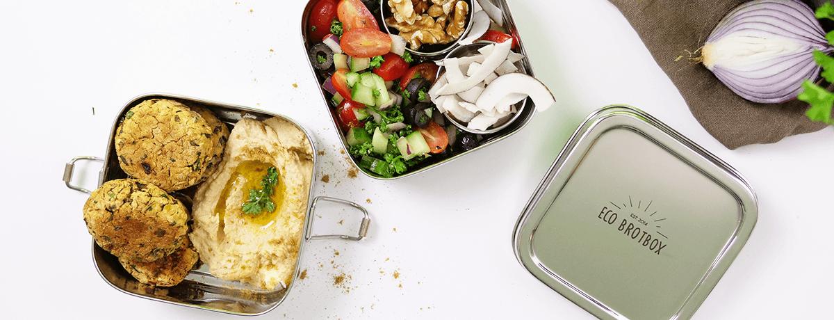 Lunch Box Rezept: Falafel