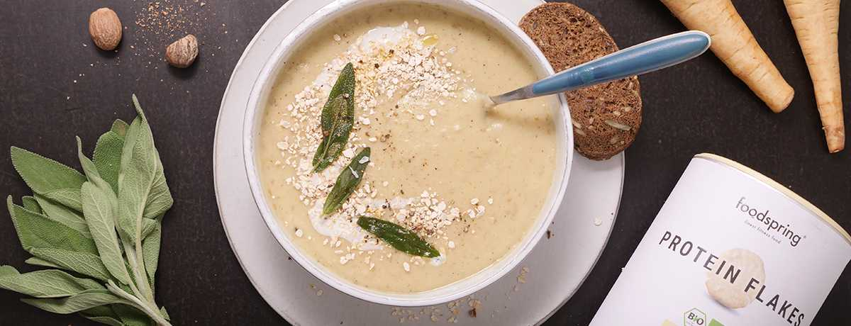 Kartoffel-Pastinaken-Suppe