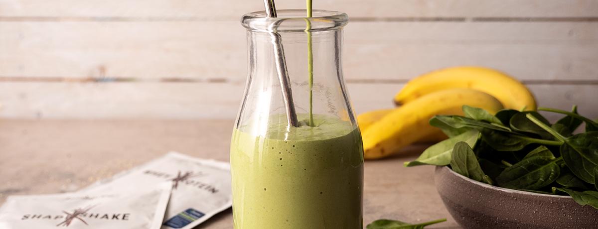 Grüner Protein Smoothie