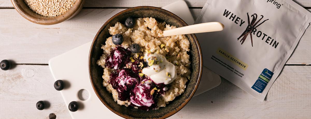 Quinoa Protein Porridge