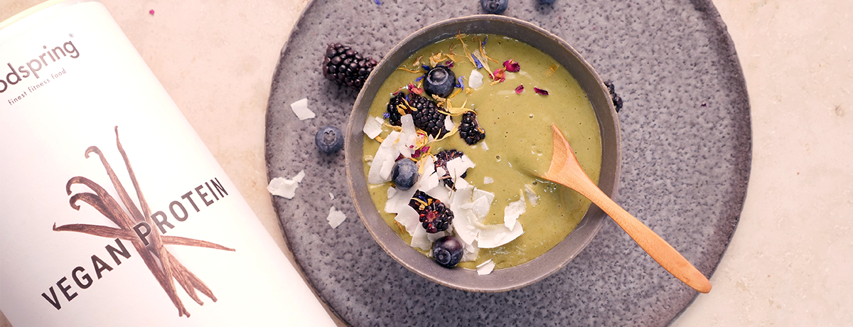 Smoothie bowl à l'avocat