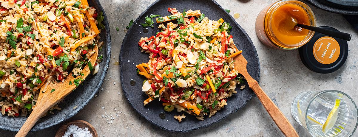 Salade de riz rapide