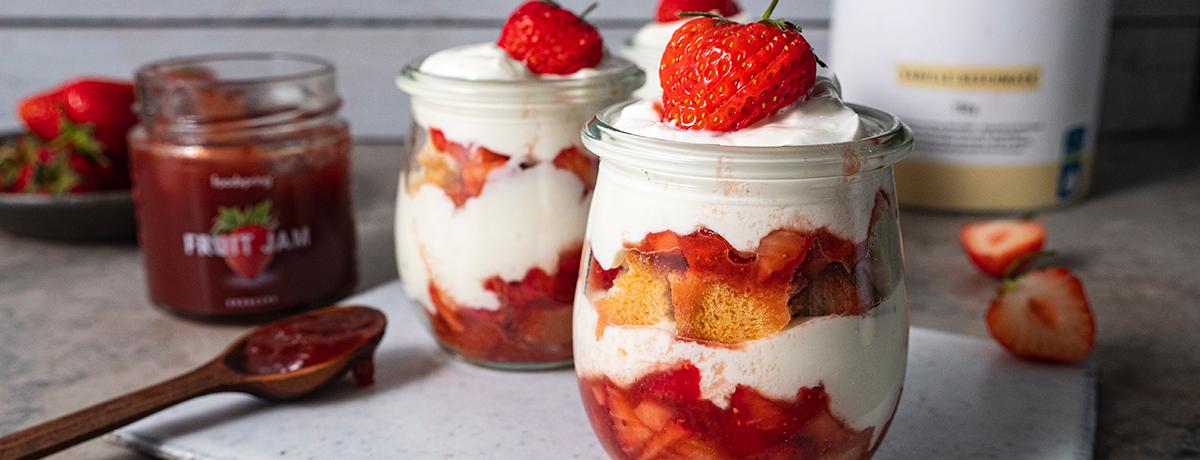 Trifle à la fraise