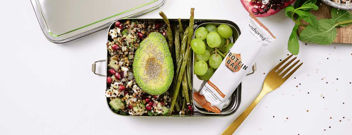Lunch Box Rezept: Quinoa Salat
