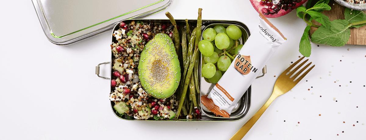 Lunch Box Rezept: Quinoa Salat