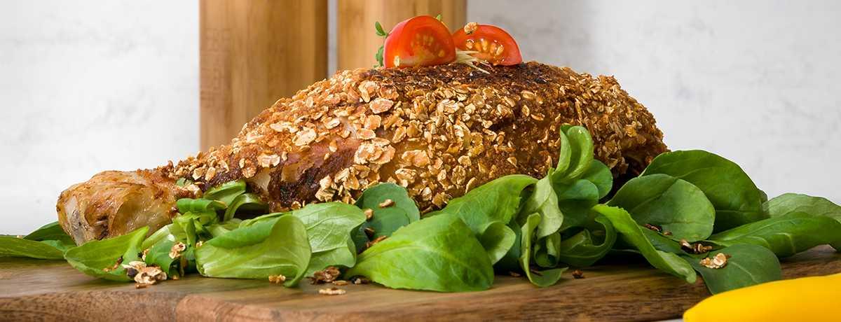 Hähnchenfilet mit Protein-Parmesan-Kruste