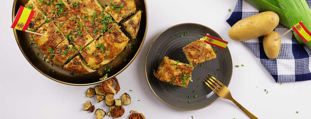 Gemüse Tortilla Rezept