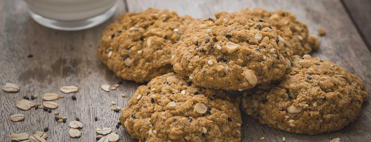 Cookies à la banane et à l'avoine