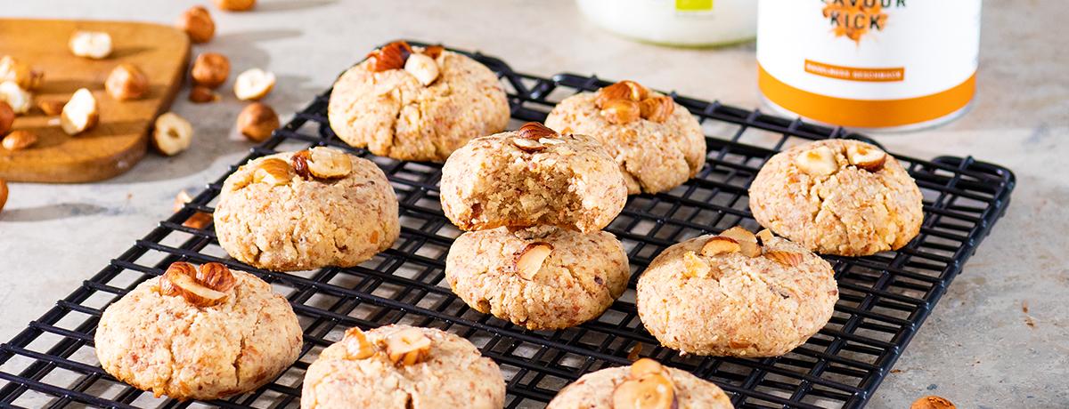 Cookies sans sucre à la noisette