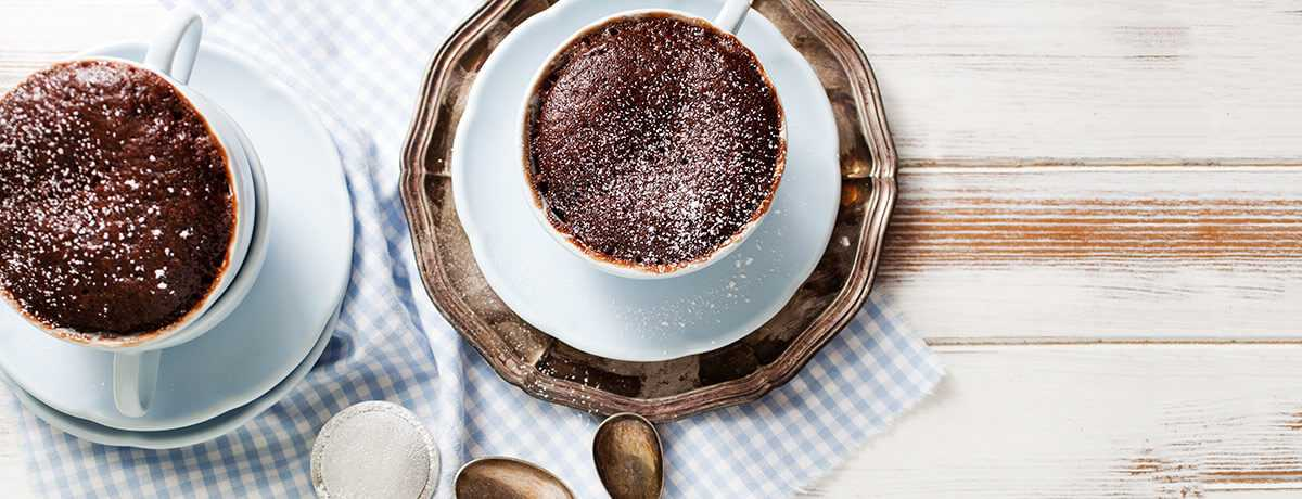 Mug cake protéiné au chocolat