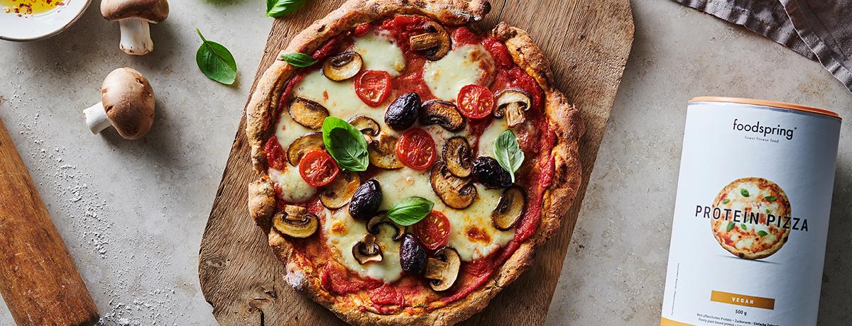 Protein Pizza Funghi