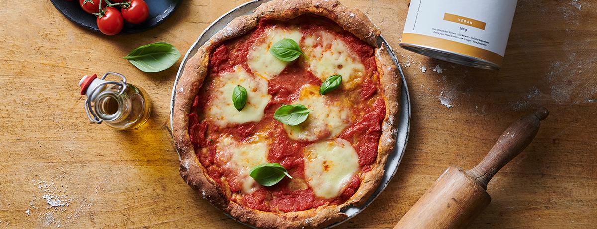 Pizza Protéinée margherita