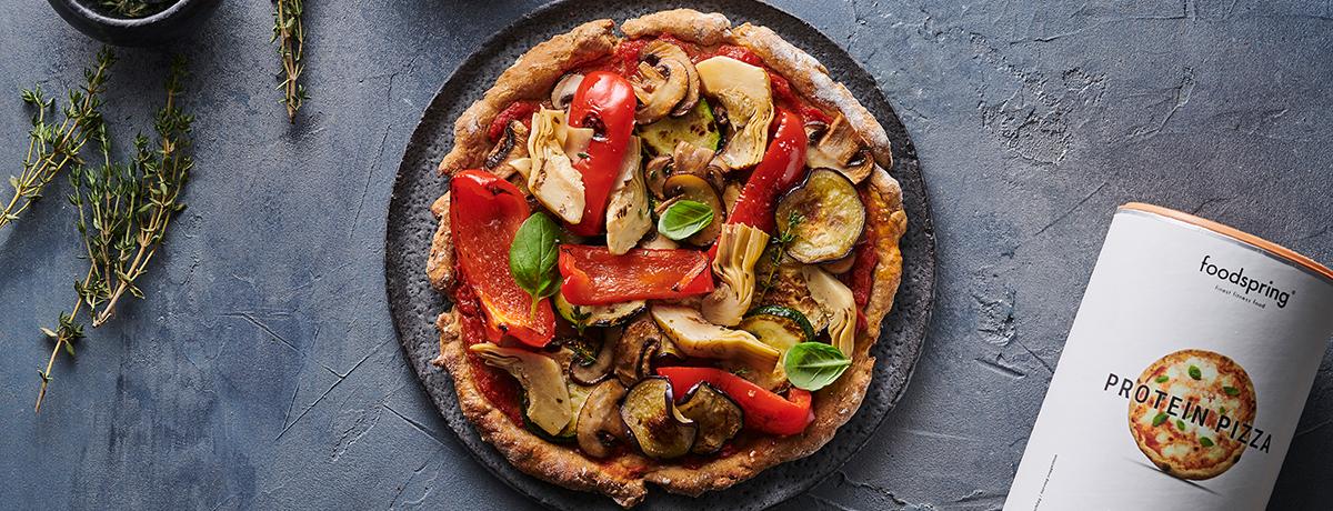 Vegane Protein Pizza