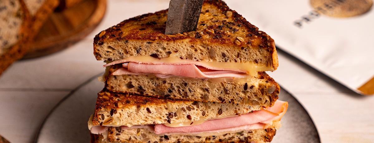 Grilled Protein Sandwich