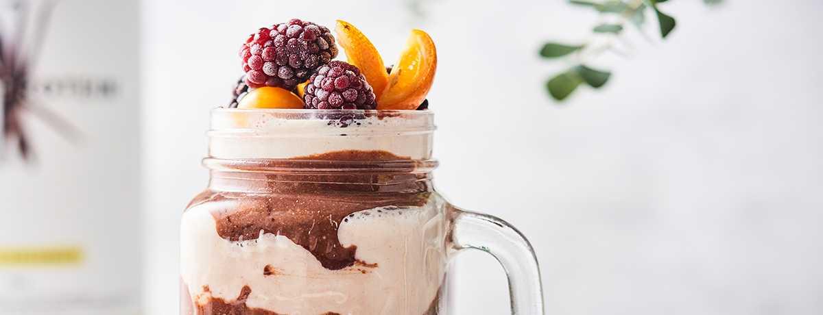 Shake vanille chocolat
