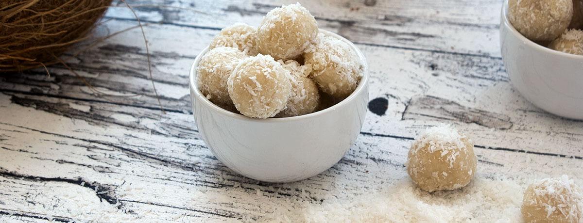 Kokos Proteinkugeln