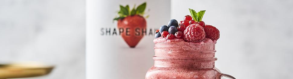Shape Shake mit Früchten
