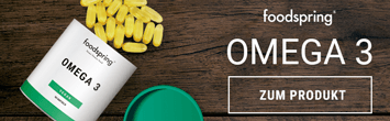 Cápsulas de omega 3 foodspring