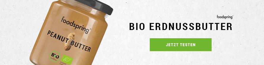 foodspring Bio Erdnussbutter