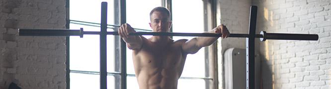 Athlète en entraînement