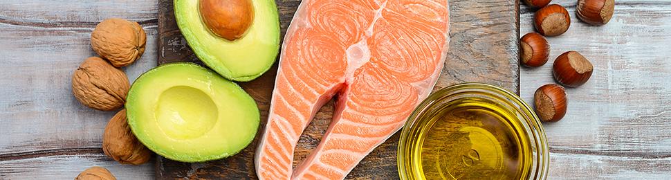 Paleofreundliche Lebensmittel mit gesunden Fetten und Proteinen