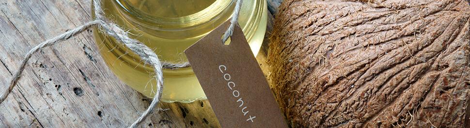 Kokosnuesse zur Herstellung von Kokosoel