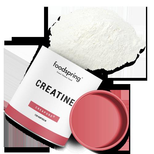 foodspring Creatine im Vergleich zum Konkurrenzprodukt