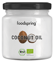 foodspring organic coconut oil