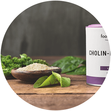 Choline extracted from wheat