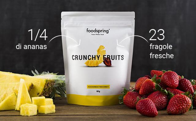 Contenuto di Crunchy Fruits