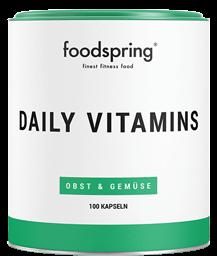 Envase de Daily Vitamins