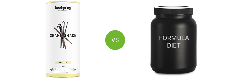 Shape Shake vs. competitor products