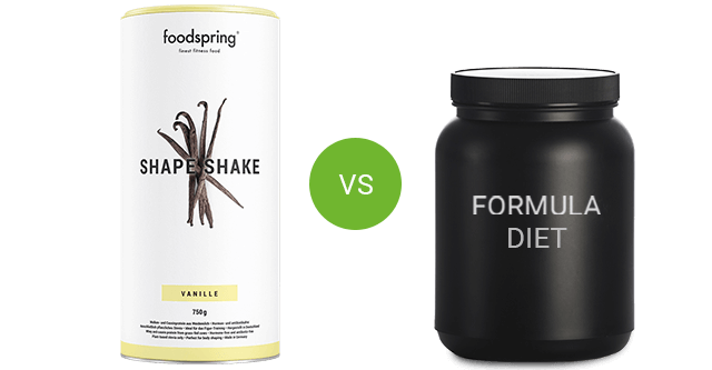 Shape Shake vs. competitor product