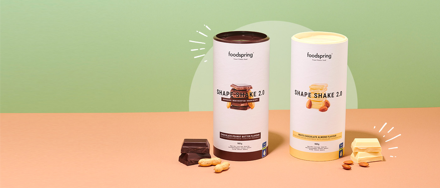 Shape Shake 2.0: new flavours!