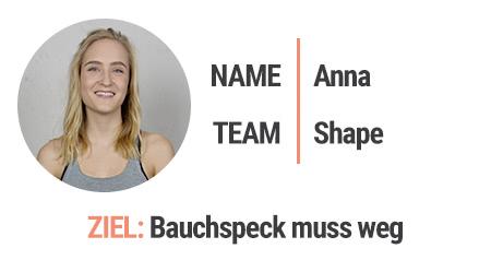 Team Shape: Anna