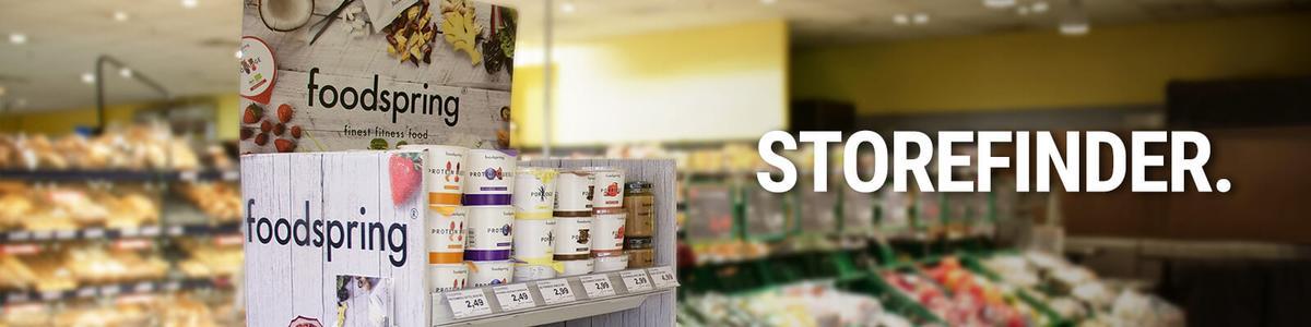 foodspring storefinder