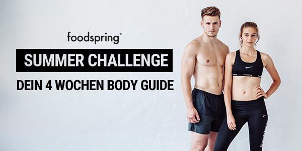 Foodspring Summer Challenge