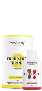Endurance Drink + Energy Gel