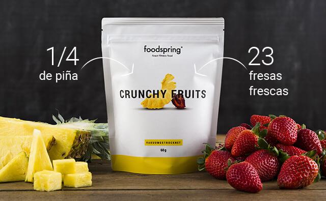 Contenido de las Crunchy Fruits